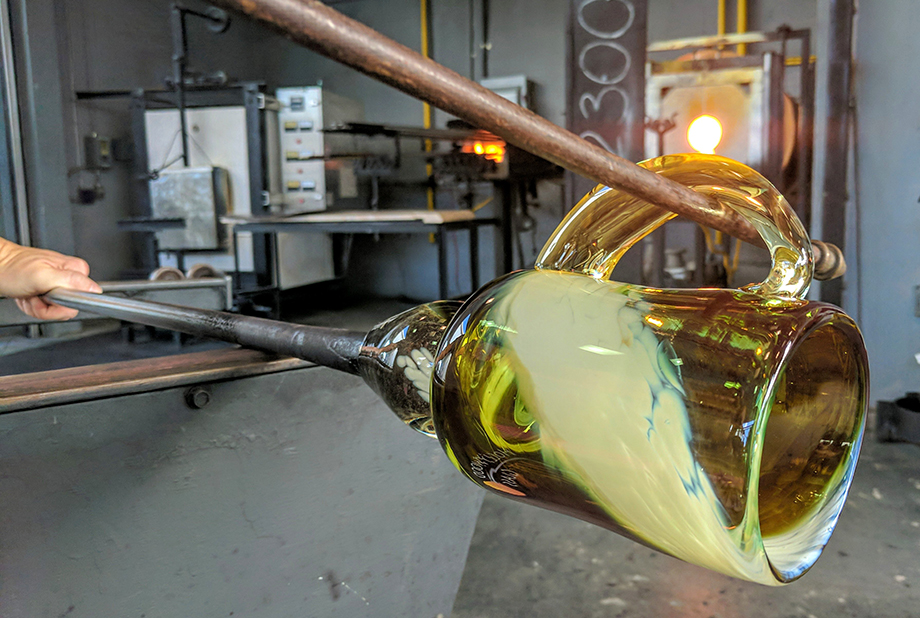 Glassblowing 101 - 10 Week Intensive Course | Hollywood Hot Glass