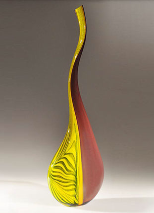 Life, Glass Art Made By Hollywood Hot Glass